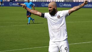 Gonzalo Higuaín, durante un partido