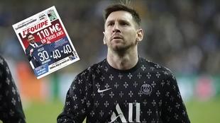 Revelan el salario de Messi que tendrá en el PSG por los tres años...