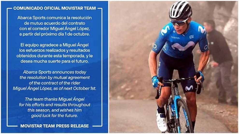 Supermán _López y el comunicado de su salida del Movistar.