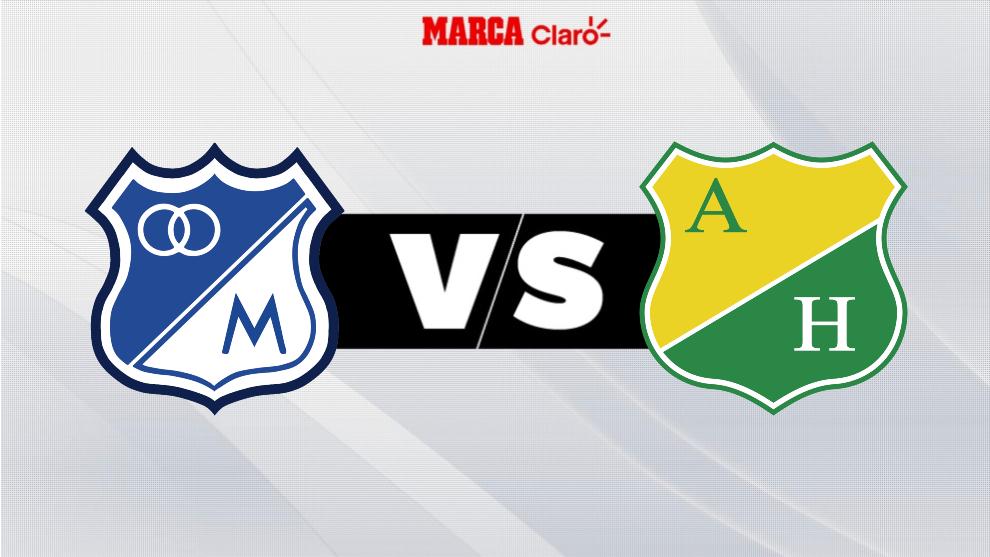 Millonarios vs Huila, en vivo el partido por la fecha 1o de la Liga ...