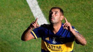 Edwin Carrdona en Boca Juniors