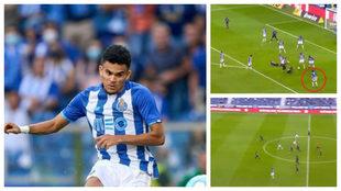 Así fueron los goles de Luis Díaz ante el Moreirense.