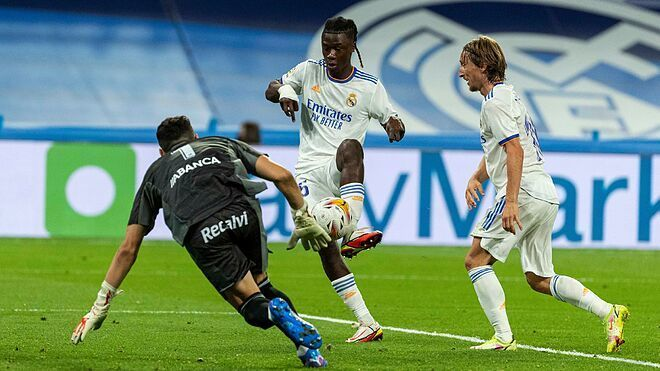 Camavinga scores his first goal for Real Madrid