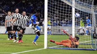 La Juve recibe un gol esta temporada
