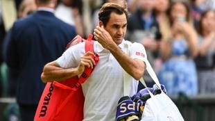 Roger Federer en Wimbledon