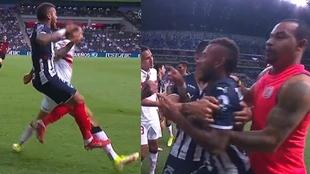 La pelea de Duván Vergara, Pipe Pardo y Rubens Sambueza que termina...