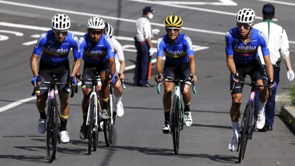 Selección Colombia de ciclismo en los Juegos Olímpicos de Tokio