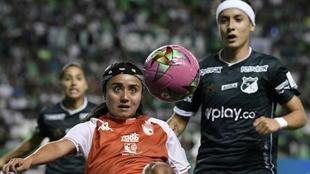 Final Liga Femenina entre Santa Fe y Deportivo Cali.
