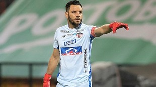 Sebastián Viera, arquero del Junior.