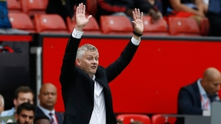 Ole Gunnar Solskjaer, entrenador del Manchester United.