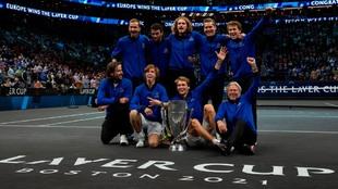 Europa campeón Laver Cup 2021