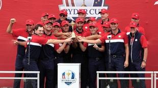 Estados Unidos campeón de la Ryder Cup 2021