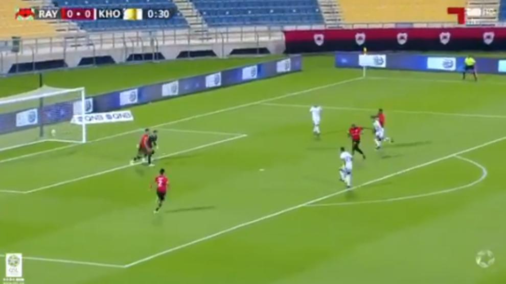 El gol con el que pierde el Al Rayyan.