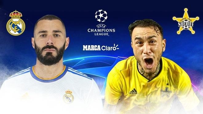 Real Madrid vs Sheriff Tiraspol, en vivo y en directo online:...