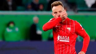 Ivan Rakitic anota el gol de la victoria de Sevilla en la visita al...