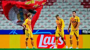 de Jong, Sergino Dest y Nico Gonzalez en la derrota de Barcelona ante...