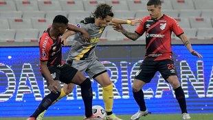 Atlético Paranaense vs Peñarol, semifinal de Copa Sudamericana