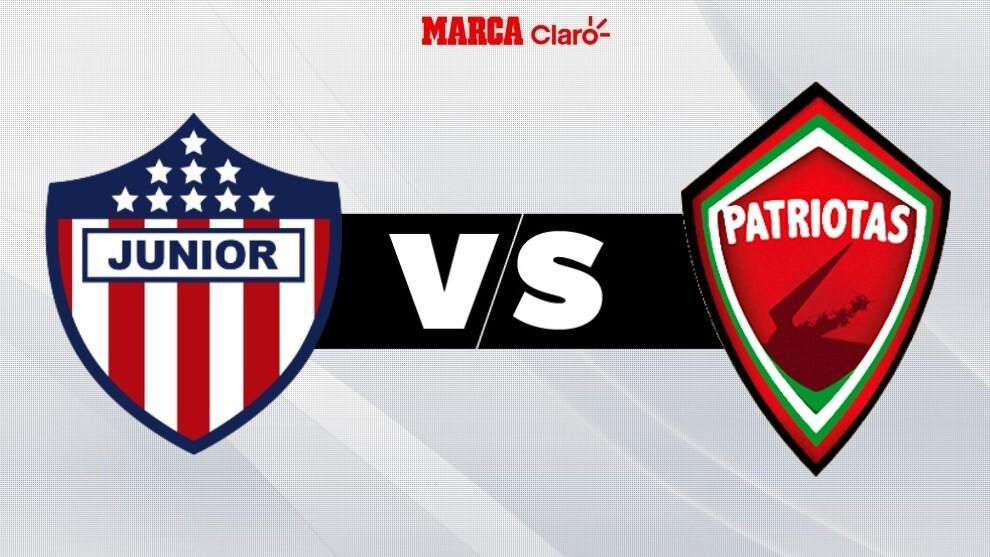 Junior vs Patriotas, en vivo por la Liga BetPlay, partido por la fecha ...