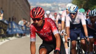 Nairo Quintana, el mejor colombiano en el Giro de Emilia.