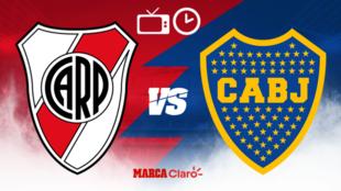 River Plate vs Boca Juniors: Hora, fecha, alineaciones y todo lo que...