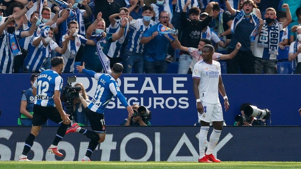 Con una mala primera parte, el Real Madrid no reacciona y pierde ...