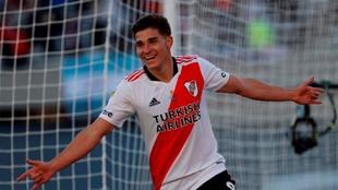 Julián Álvarez, delantero de River Plate