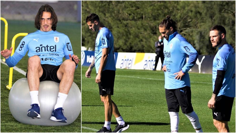 Así se prepara Uruguay para el duelo contra la Selección Colombia