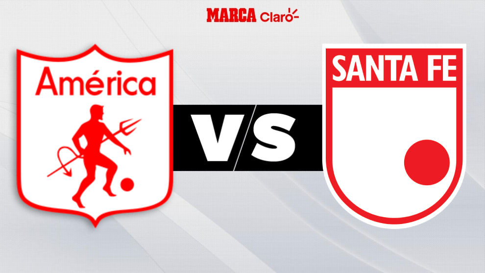 Today's matches: America vs Santa Fe, match highlights and goals from Betplay Super League