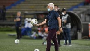 Julio Comesaña, técnico de Independiente Medellín