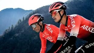Winner Anacona y Nairo Quintana
