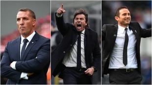 Los tres posibles entrenadores del Newcastle, Bredan Rodgers, Antonio...