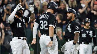Chicago White Sox vence a Astros y descuenta en la Serie Divisional.