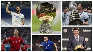 Los 5 candidatos al Balón de Oro