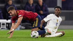 Tchoumeni ante la selección española