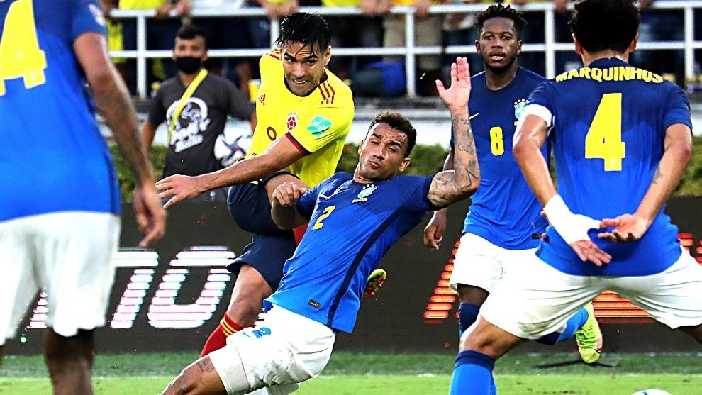 Falcao no anota con la Selección desde su tanto ante Chile en...