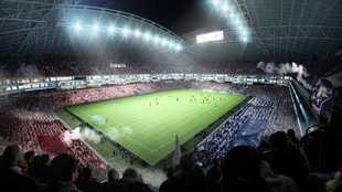 Proyecto del nuevo estadio El Campín