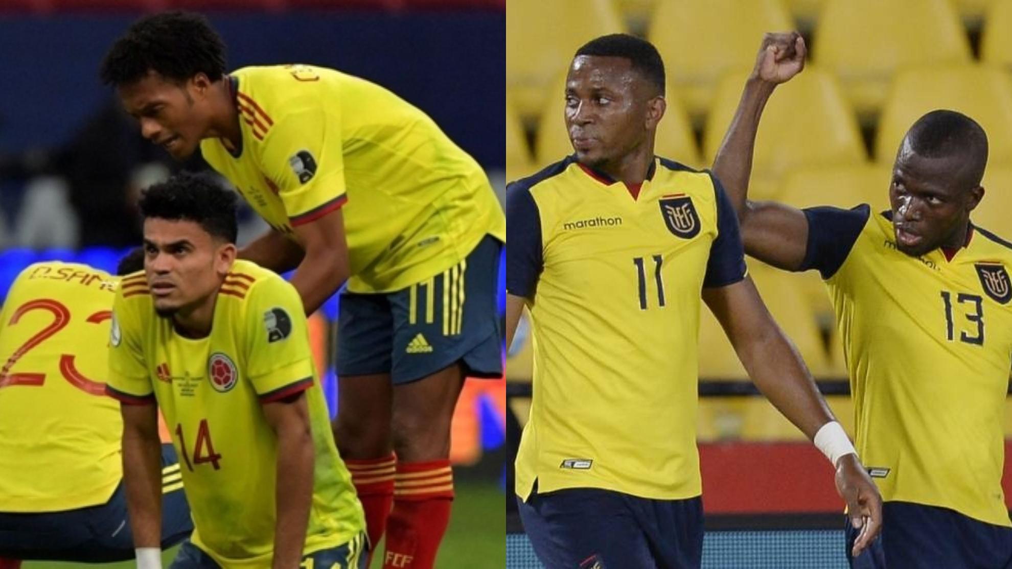 Colombia vs Ecuador: Probables Formaciones