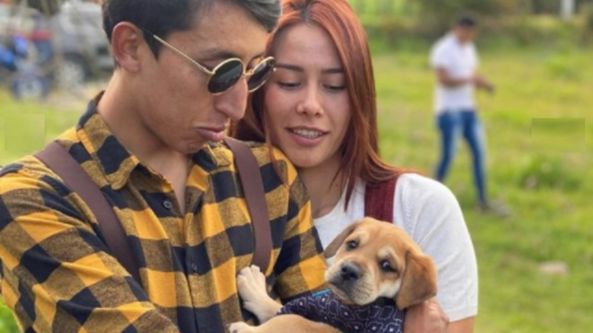 Egan Bernal regrets that his dog was killed because he poisoned him.