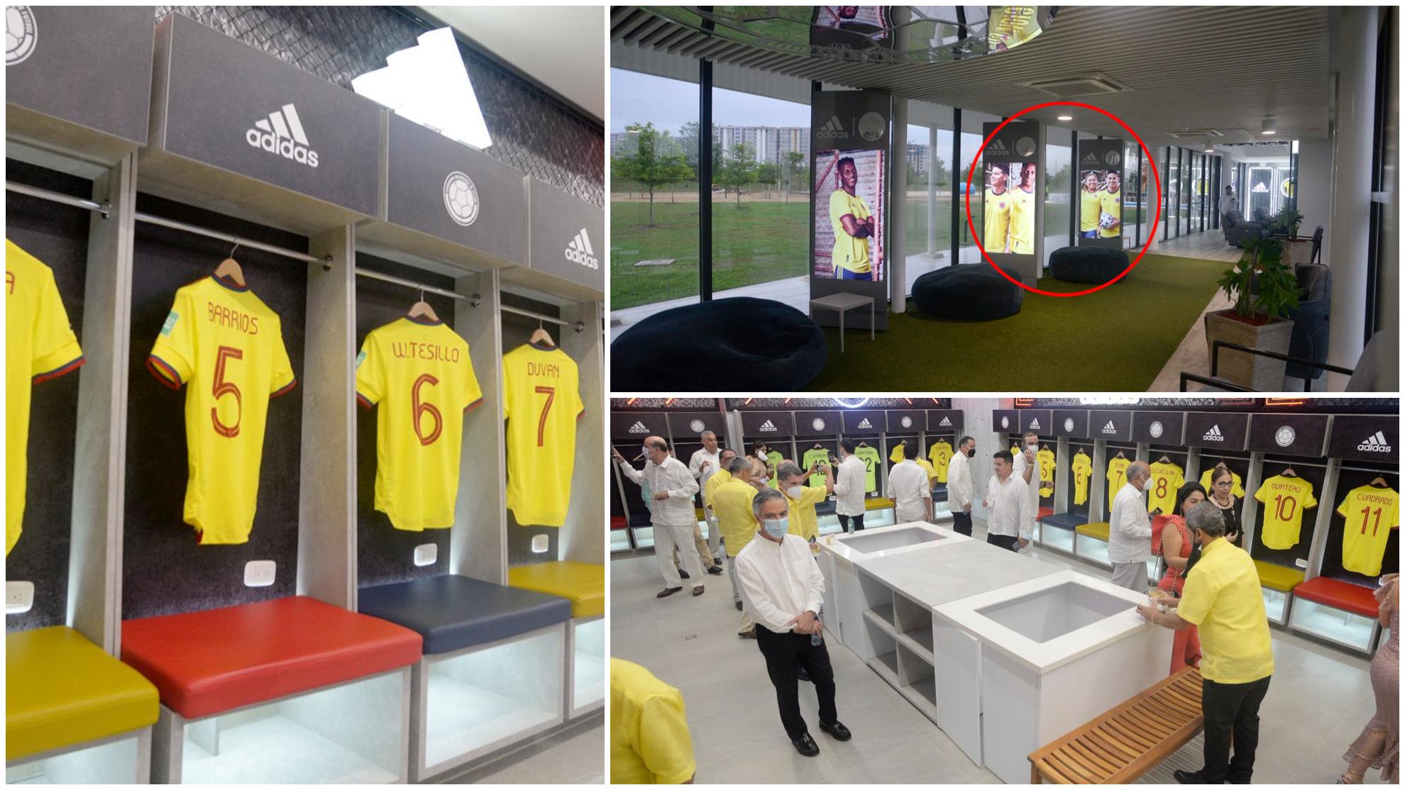 Imágenes de la sede de la Federación Colombiana de Fútbol en...