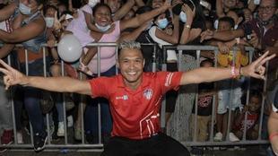 Teófilo Gutiérrez, futbolista del Deportivo Cali