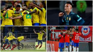 Las cuentas para el Mundial de Catar 2022: ¿Quién clasifica de...