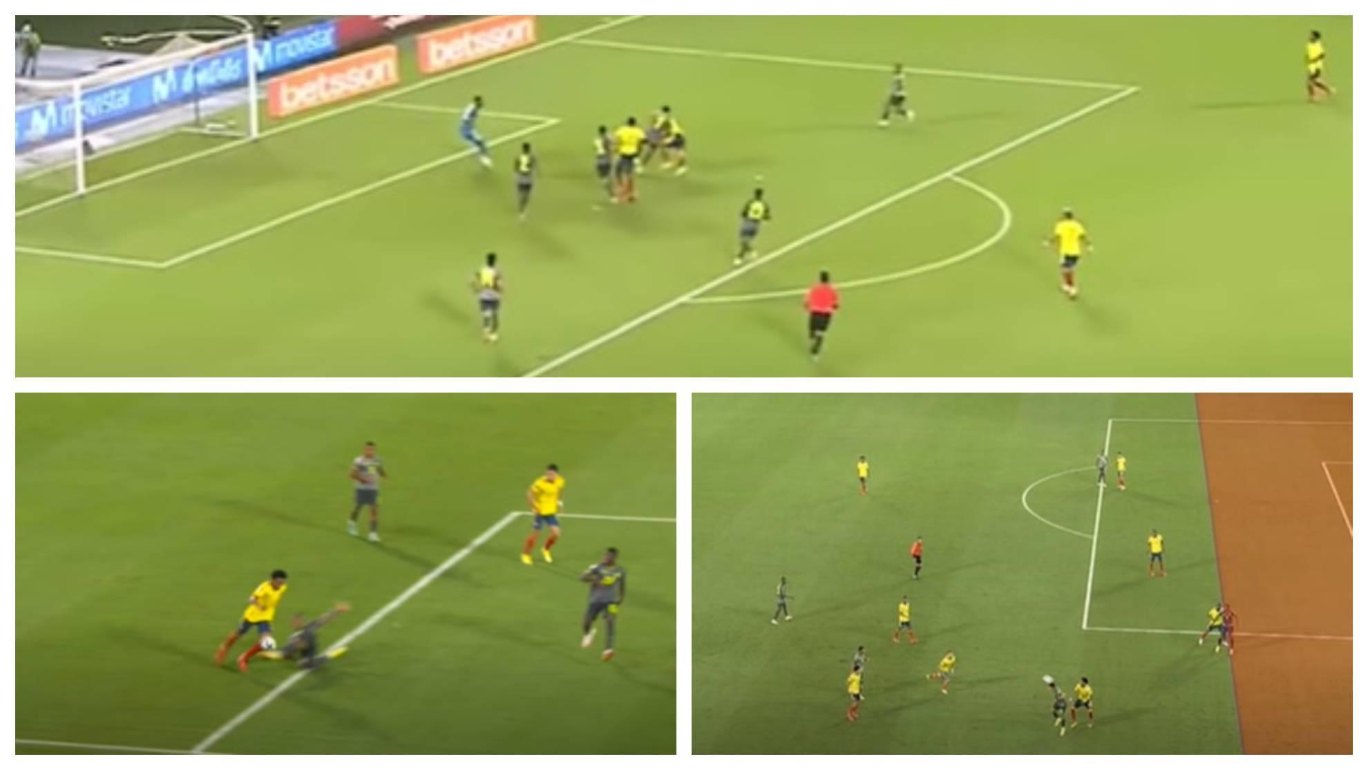 Más polémicas: audios del VAR en Colombia vs Ecuador por tres ...