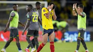 El VAR anuló un gol a Yerry Mina en el minuto 105