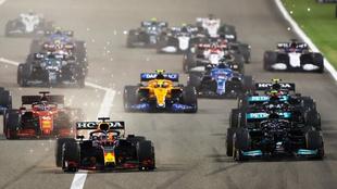 Calendario completo de la Fórmula 1 en 2022.