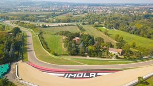 Circuito de Imolal, en Italia.