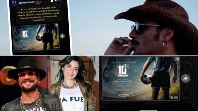 Daniel Osvaldo 'señala' a los creadores de la serie sobre Diego ...