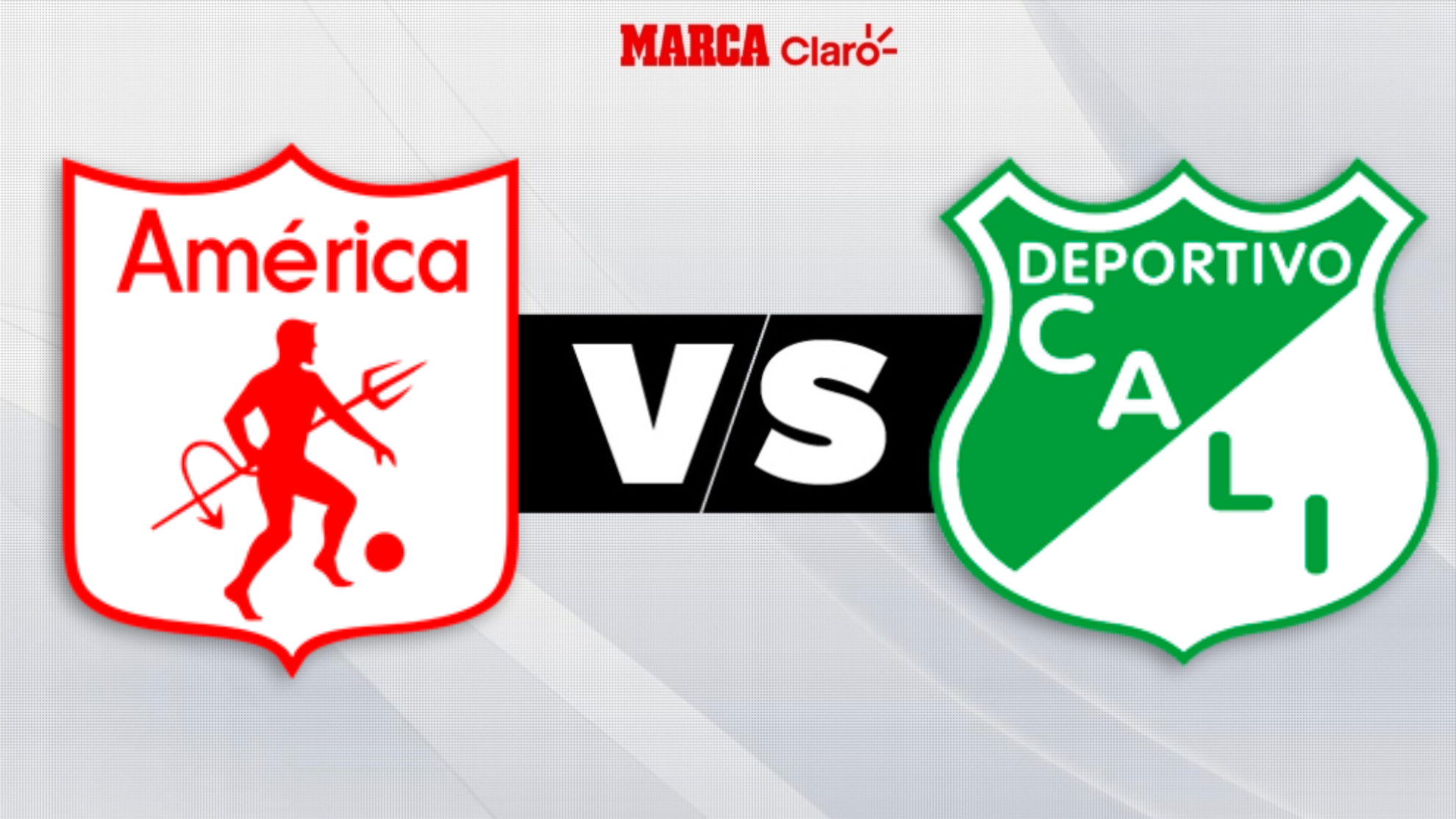 América vs Deportivo Cali, liga colombiana en directo.