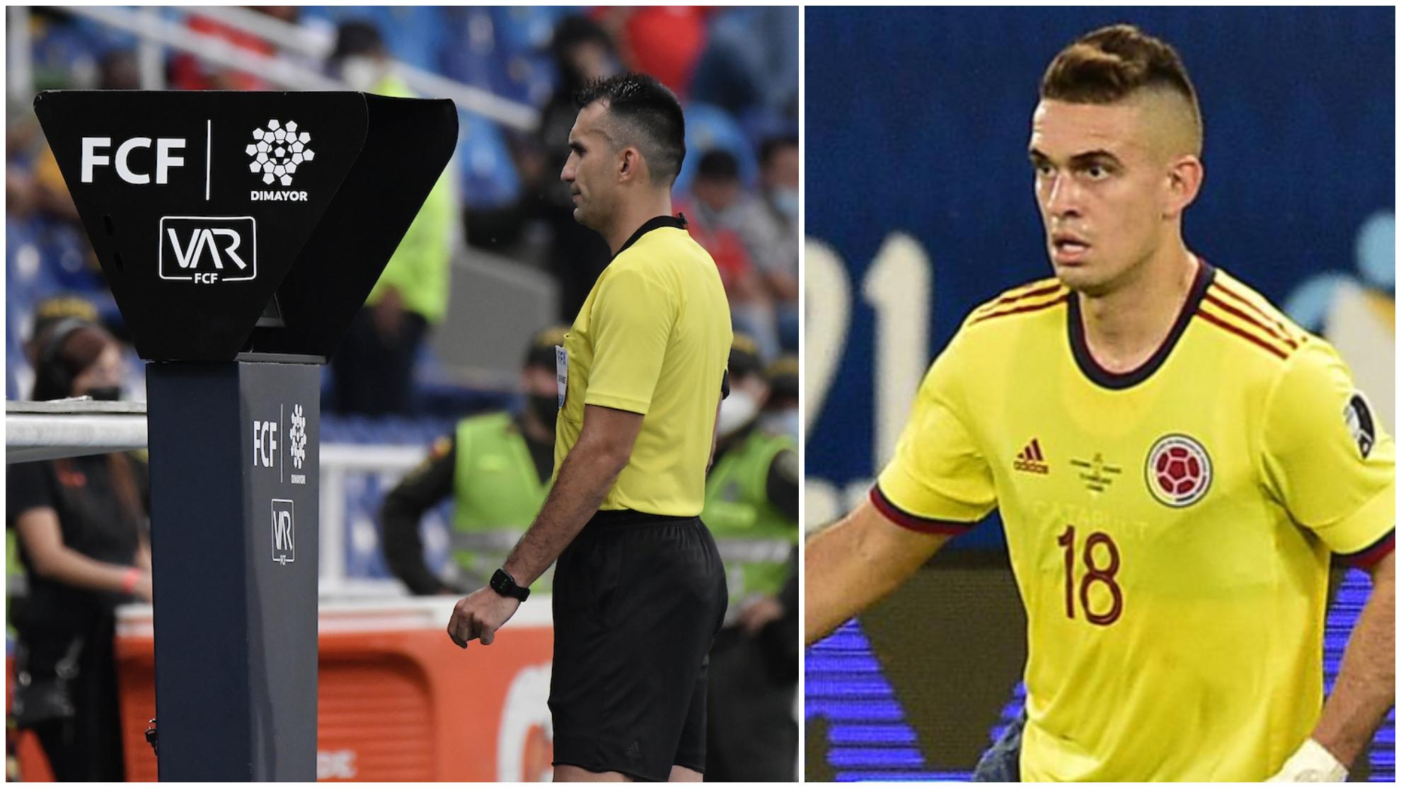 Carlos Betancur y Rafael Santos Borré.
