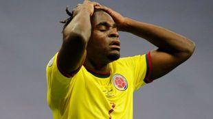 Duván Zapata en la Selección Colombia
