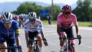 Egan Bernal y Remco Evenepoel en el Giro de Italia 2021